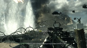 Call of Duty Modern Warfare 3 Eiffel Tower