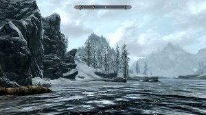 Skyrim Mountain