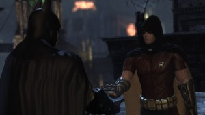 Batman Arkham City Nightwing Robin
