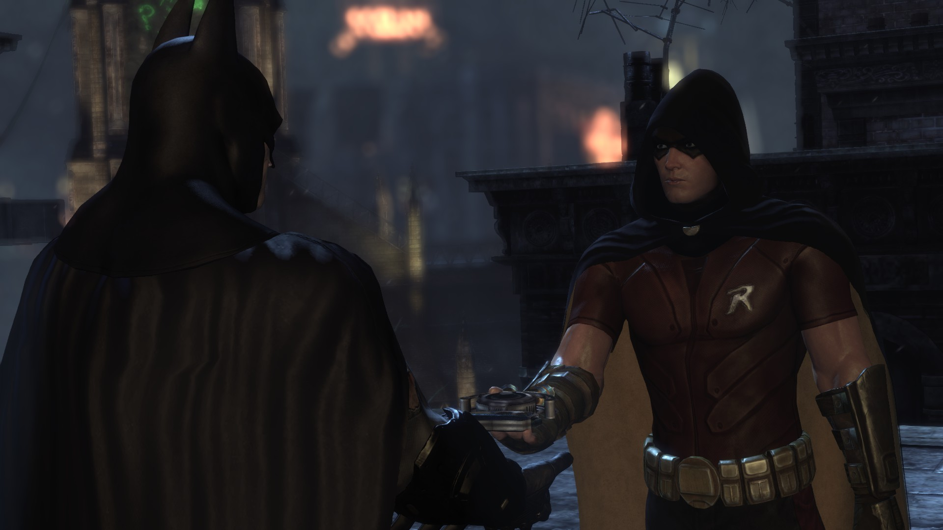Batman Arkham City Nightwing And Robin Batman Arkham City Nightwing