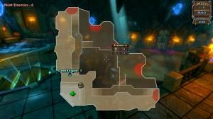 Dungeon Defenders Map