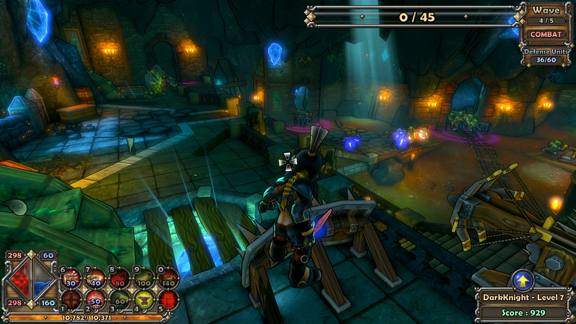 dungeon defenders failed to create game