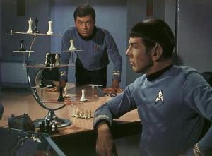 Spock McCoy 3D Chess