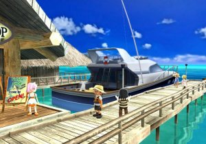 Wii Fishing Resort Trolling Boat
