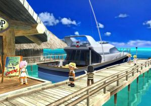 Wii Fishing Resort Cruise Ship