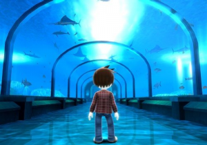 Wii Fishing Resort Aquarium