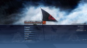 Supreme Commander 2 Title Screen