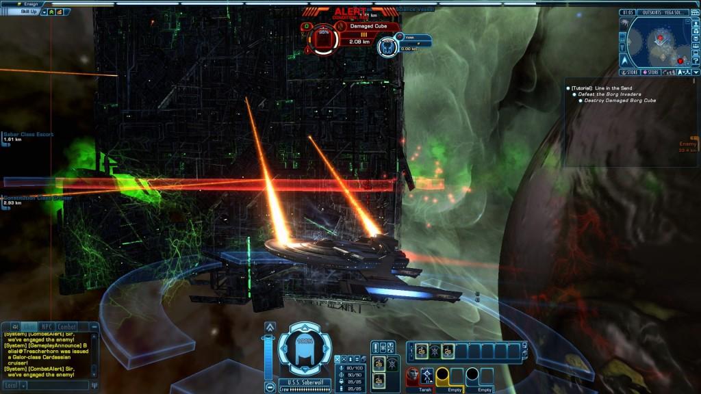 Star Trek Online Ship Combat
