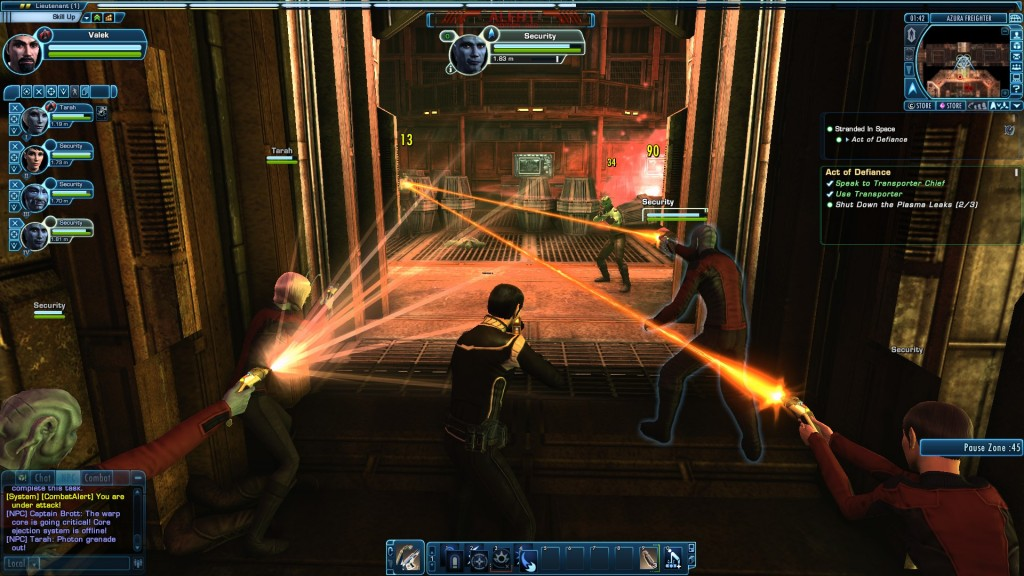 Star Trek Online Away Team Battle