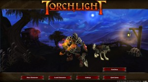 Torchlight Title Screen