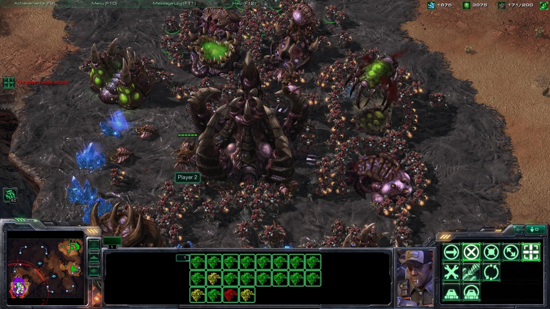 Zerg rush - Starcraft