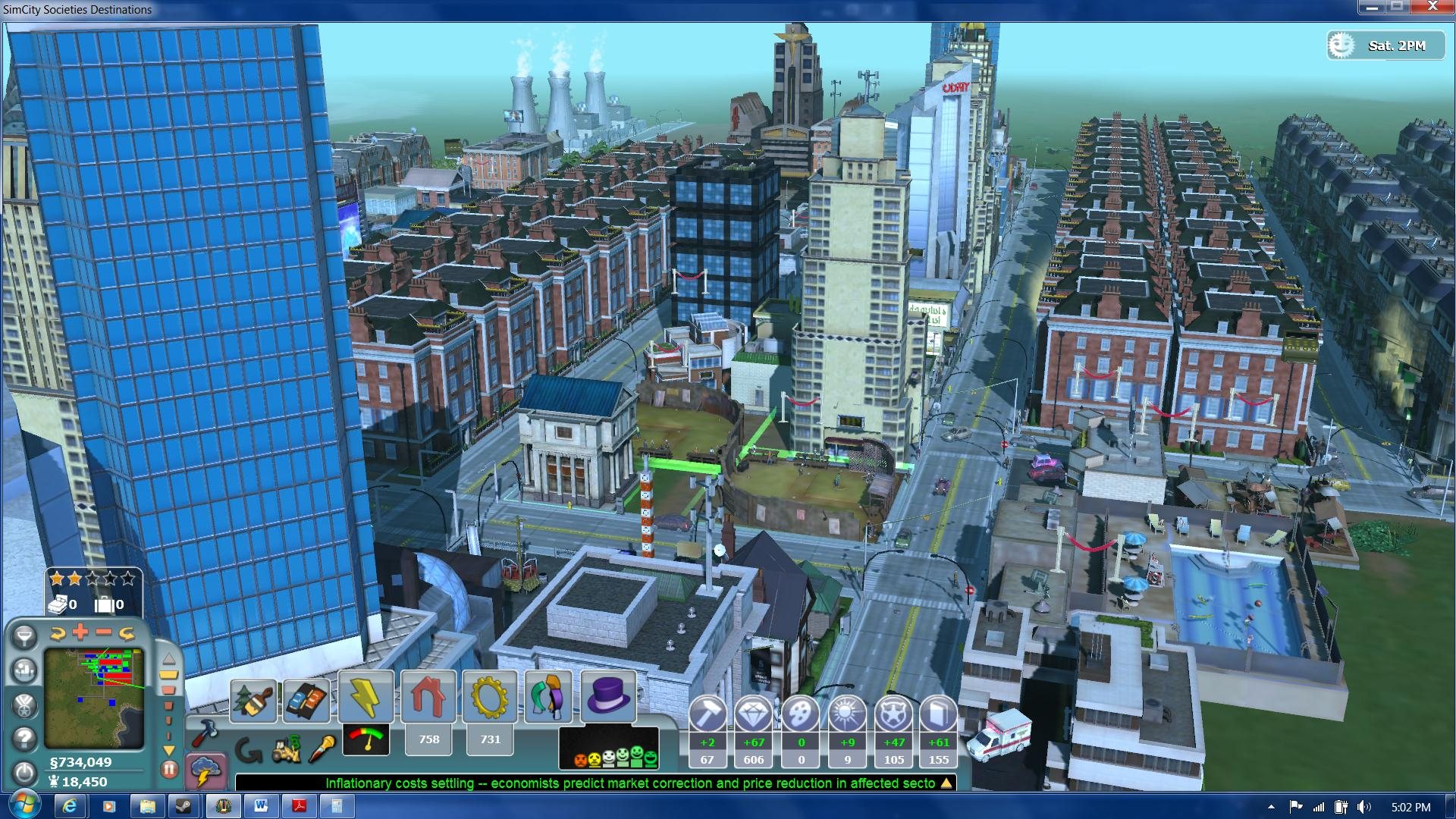 Скриншоты игры SimCity Societies.