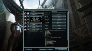 Sid Meier's Civilization V Setup Screen