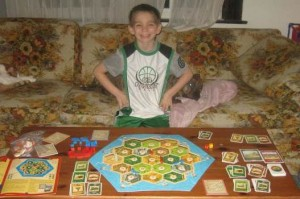 The Settlers of Catan (Core Game), 2-4 Players, Ages 10+, Average Play Time: 30-45 Mins