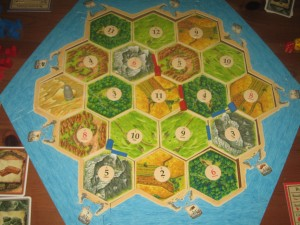 The Settlers of Catan Board