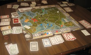 Airlines Europe, 2-5 Players, Ages 13+, Average Play Time: 1.5 - 2 Hours
