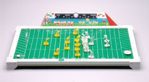 The exception to the rule is electronic football. Feel free to use it as your cat's new litter box.