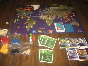 Pandemic: 2-4 Players, Ages 10+, Average Play Time: 45-60 Minutes