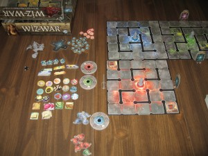 Wiz-War: 2-4 Players, Ages 12+, Average Play Time: 45 to 60 Minutes