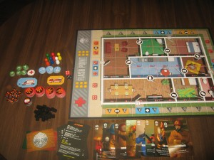 Flash Point Fire Rescue: 2-6 Players, Ages 10+, Average Play Time: 30-60 Minutes