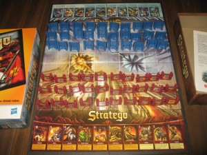 Stratego: Fire and Ice Variant - 2 Players, Ages 8+, Average Play Time = 15 to 30 Minutes