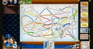 Ticket to Ride Colors