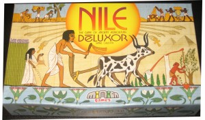 Nile DeLuxor: 2-6 Players, Ages 8+, Average Play Time = 30-45 Minutes