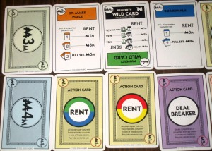 Monopoly Deal Action Cards