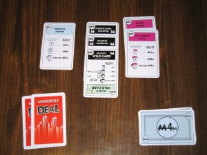 Monopoly Deal Play Area