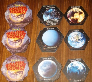 Disaster Looms! Prototype Exploration Tiles
