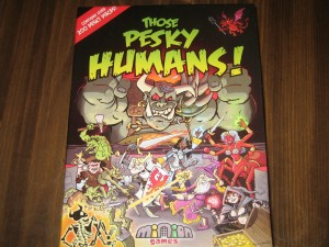 Those Pesky Humans!: 2-4 Players, Ages 13+, Average Play Time = 90 Minutes