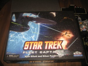 Star Trek: Fleet Captains - 2 to 4 players, Ages 14+, Average Play Time = 1 to 2 hours