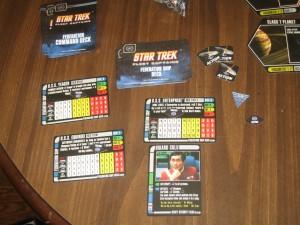 Star Trek Fleet Captains Ship Cards