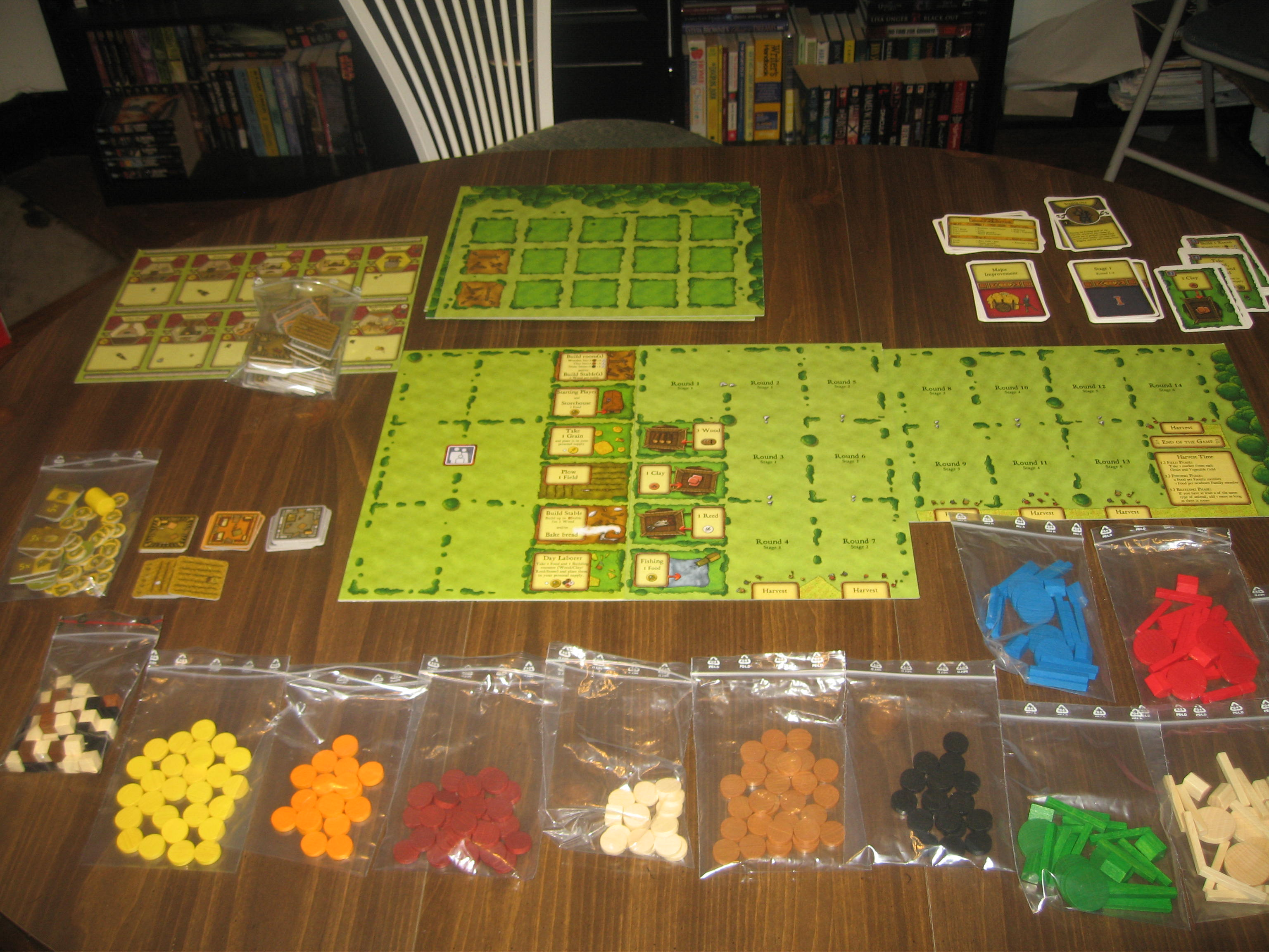 Agricola boardgame