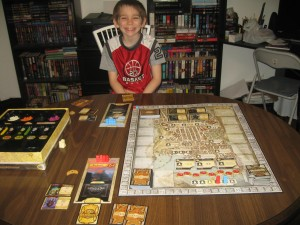 Lords of Waterdeep Game Setup