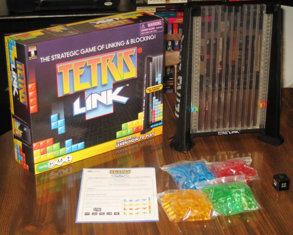 Tetris Link: 2-4 Players, Ages 6+, Average Play Time = 15 Minutes