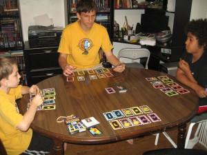 Tetris: The Card Game Setup