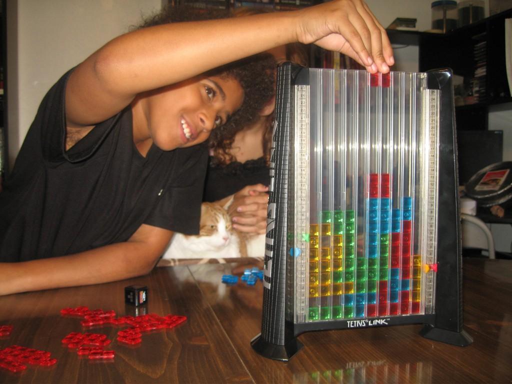 Tetris Link Gameplay