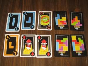 Tetris: The Card Game Scoring