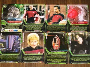 Star Trek The Next Generation Deck Building Game Borg Scenario