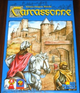 Carcassonne: 2-5 Players, Ages 8+, Average Play Time = 60 Minutes