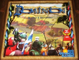 Dominion: 2-4 Players, Ages 13+, Average Play Time = 30 Minutes