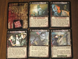 Last Night On Earth Zombie Cards