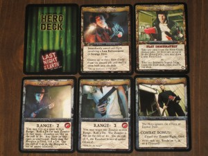 Last Night On Earth Hero Cards