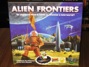 Alien Frontiers: 2-4 Players, Ages 13+, Average Play Time = 60-90 Minutes