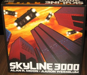 Skyline 3000: 2-4 Players, Ages 10+, Average Play Time = 60 Minutes