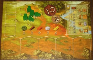 Stone Age Player Board