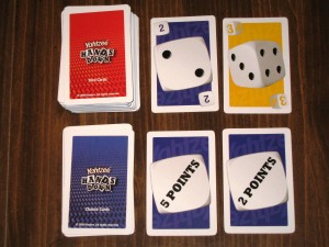 Yahtzee Hands Down Chance and Dice Cards