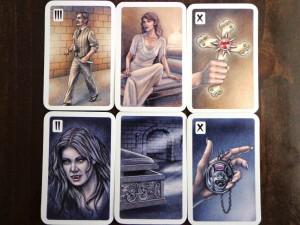 Dracula Encounter Cards