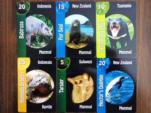 Komodo Animal Cards
